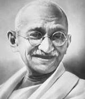 Gandhi in his later years