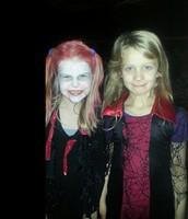 Vinkonur <3 á Halloweenballi