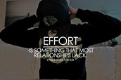 Effort to try