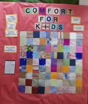St. Gabriel NJHS Blankets for patients project
