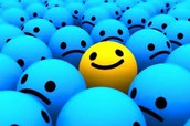It's ok to be the only one smiling!