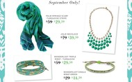 September Trunk Show Exclusive Offer
