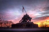 Photo of the Marine Corps Memorial