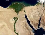 Red sea, Delta, and Nile River