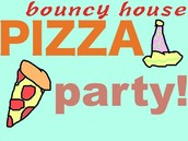 Pizza and Bounce Houses