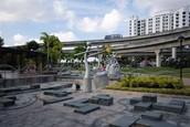 Sengkang's Scupture park