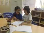 Puti and Nadine Sharing Published Writing