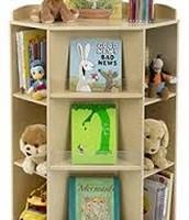 6 Rolling Bookshelf Caddy