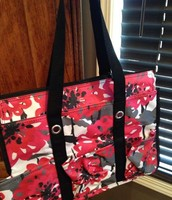 Zip Top Organizing Utility Tote