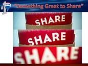 """Something Great to Share"""