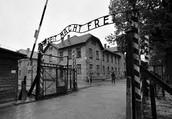 entrance to Auschwitz 1