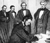 Signing the Act