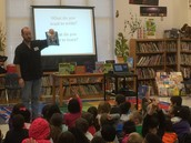 Author Chris Barton Visits