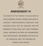 Amendment IV Search without Warranty Clause