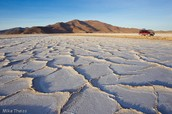 What is the Bolivian Salt Flat? Where is it located?