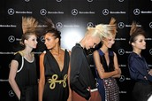 madrid fashion week peinados