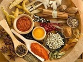 Spices used in Indian food