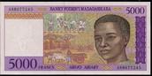 5000 Malagasy Ariary