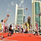 Sports across Doha