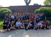 Class of 2015 Donates Bench