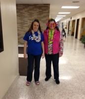 Preschool gets in on Sunglasses and Island Day!