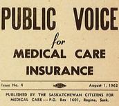Pamphlets of Saskatchewan Citizens for Medical Care