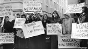 women's liberation protest
