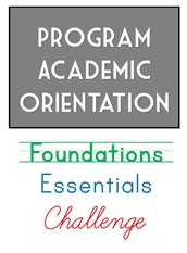 Are you contracted to attend a Program Academic Orientation?