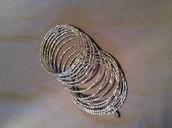 Bardot spiral bangle