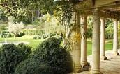 The Romans garden
