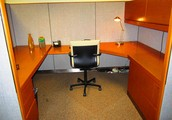 Open space office option to 8 person private offices!