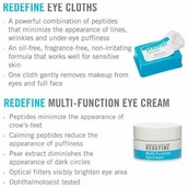 Eye Cream and Eye Cloths