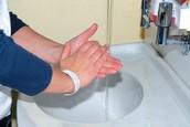 Wash hands often