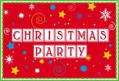CHRISTMAS PARTY ON DEC. 13th