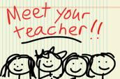 """""""Meet the Teacher"""": THURSDAY, AUGUST 23rd"""