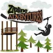 Zipline Adventure - Fri, May 13