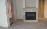 Fireplace with heat output