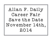 Thank you for taking interest in being a presenter for the 2014-2015 Daily Career Fair!