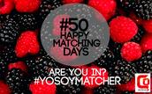 #50HappyMatchingDays Webinar