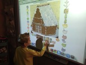 Interactive Gingerbread House!