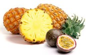 Pineapple and Passionfruit