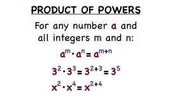 Product of Powers
