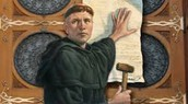He wrote the 95 Theses