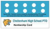 Membership Card Raffles