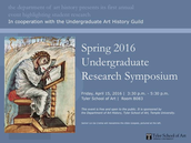 SPring 2016 Undergrad Research Symposium