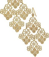 CHANTILLY LACE CHANDELIER EARRINGS