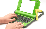 Hand Crank Laptop - $170