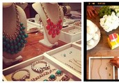 Brighten your afternoon with friends, food and fashion jewelry!