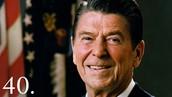 Ronald Regan (February 6, 1911) - (June 5, 2004)