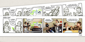 FINALLY: Create the comic strips of your own story line!